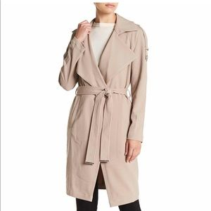 Soia and Kyo Margery Belted Trench Coat NWT